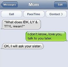 Let's look at these funny texts!