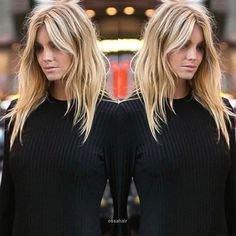 - New Site - Trendy Hair Highlights: cut sweet! – New Site Trendy Hair Highlights: cut sweet! Balayage Brunette, Balayage Hair, Brunette Bangs, Brunette Fringe, Blonde Hair Bangs, Summer Hairstyles, Cool Hairstyles, Popular Hairstyles, Long Shag Hairstyles