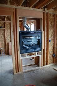 two way fire place - Google Search