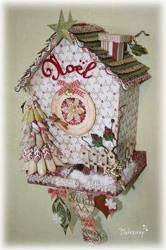 <3 this house~CONCOURS IMAGINASCRAP et DT EMBELLISCRAP - Floliescrap christmas_crafts