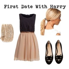 """First Date With Harry"" by ashxzx on Polyvore"