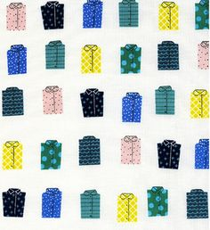 Whales do not make shirts, but you could! Why not make a shirt out of this  shirt fabric? Great for quilting and dressmaking. Shirts measure at 3 cm.  Medium weight cotton is great for quilting, dressmaking , bag making and  that's only the beginning, the world is your oyster!  The Lowdown