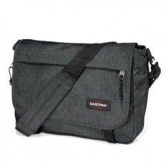 Eastpak Delegate Black Denim Shoulder Bag