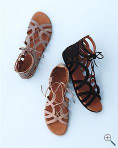 Gentle Souls Break-My-Heart Gladiator Sandals. Cute but too expensive