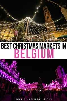 Best Christmas Markets, Christmas Travel, Holiday Travel, Christmas Fun, Backpacking Europe, Europe Travel Guide, Travel Guides, Europe Destinations, European Vacation
