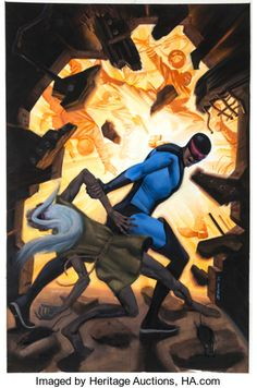 Original Comic Art:Covers, Steve Rude Nexus Archives #6 Cover Painting Original Art(Dark Horse, 2007) - W.B.
