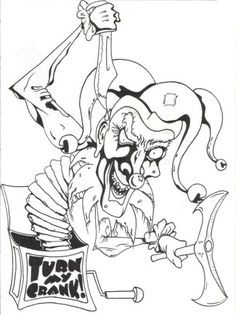Download image Evil Jack In The Box Tattoo Designs PC Android iPhone ...