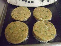 As minhas aventuras com a Bimby: Hamburgers de perú