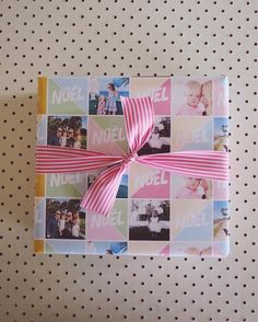 How to wrap your gifts using your awesome photos - http://fatmumslim.com.au/how-to-wrap-your-gifts-using-your-awesome-photos/
