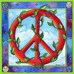 Vines Of Peace Sign Art....