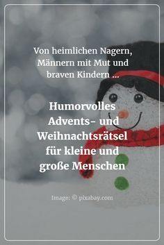 Little mystery stories for the Christmas and Advent season: For children from 8 to 12 years Source b Christmas Puzzle, Christmas Time, Merry Christmas, Quotes To Live By, Life Quotes, Advent Season, Kids And Parenting, Halloween Games, Halloween Party