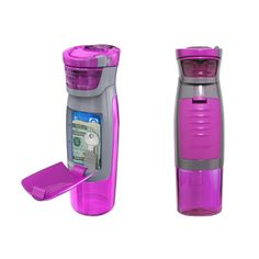 Water Bottle with Storage Compartment