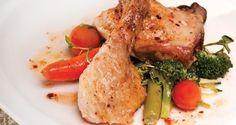 Deliciosos muslos de pollo al vino con verduras ¡Un plato saludable! | Adelgazar – Bajar de Peso