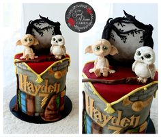 Dobby The Elf, Harry Potter Theme, Dream Cake, Novelty Cakes, Slumber Parties, Tween, Cake Toppers, Teddy Bear, Toys
