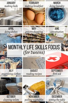 Choose one life skill to work on each month with your kids.  You'll be amazed at their progress in one year!  Use monthly lists to plan your whole year with this 12 month priority planning system. #monthlyplanning #lifeskills #planyouryear List Of Skills, Life Skills, Susan Wise Bauer, New Year Planning, Money Saving Mom, Love List, Holiday Calendar, Lists To Make, How To Make Bed