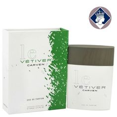 Carven Le Vetiver 100ml Eau De Parfum Spray EDP Cologne Men Perfume Fragrance