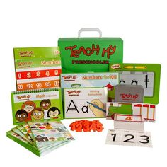 Teach My Preschooler Deluxe Learning Kit, Multicolor