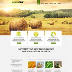 Check out this Agriculture Responsive Joomla Template ( and you might fall in love with it. Clean, professional and simple design. Corporate Website Templates, Joomla Templates, Web Design Trends, Web Design Inspiration, Design Web, Blog Design, Agriculture Companies, Joomla Themes, Custom Website Design