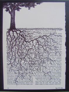 I want to try making this. https://www.etsy.com/listing/151104157/print-of-an-original-drawing-of-a-tree: