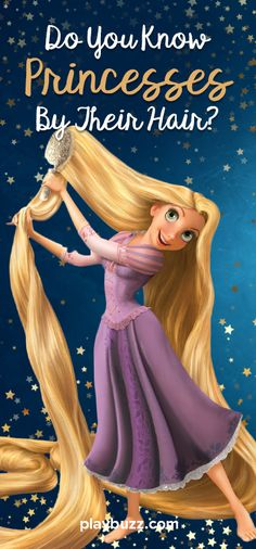 Are You The Master Of Guess Princesses Hair. Play And Figure Out!!!