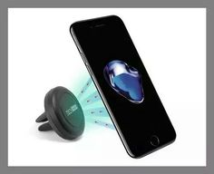 this air-vent phone mount is worth the $7. I keep it in my suitcase so that I have it when I travel and I'm driving around a rental car. It works everywhere and holds my phone securely in place while driving. — Reuben Ingber  TechMatte MagGrip Air Vent Magnetic Universal Car Mount Holder, $6.99
