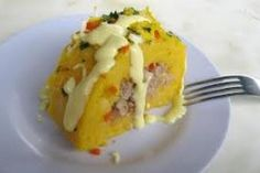 Peruvian Causa de Atun ( Potato Tuna Loaf) Recipe