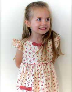 Digital DRESS PATTERN FOR GIRLS--The Maddie Lou Dress -pattern includes 5 SIZES -TO FIT GIRLS AGES: 2,3,4,5 and 6 -This is a digital pattern that can be downloaded instantly after purchase. ❀There are several listings for The Maddie Lou Dress to show the different design