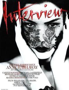 Anne Hathaway, Interview