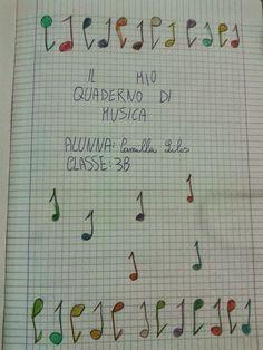 Quaderno di musica 3^B  Quest'anno abbiamo approfondito i parametri del suono. ...
