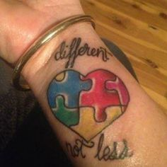 Autism Tattoos Designs