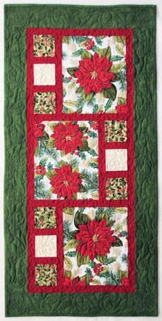 Christmas Splendor Divided by 3 Table Runner Kit
