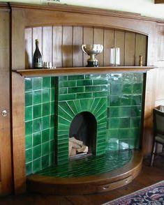 Dining Room Fireplace, Broadleys, Windermere