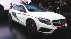 Mercedes GLA 45 AMG revealed in Detroit