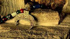 Replica of a lunula pendant found in Barczewko, Poland. Culture: Slavic (West Slavs). Timeline: 11th century[via Kram Szepczące Kruki]