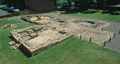 antonine wall   The Roman military bathhouse at Bearsden, Scotland, just to get some ...