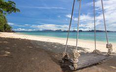Thailand mit Kind: Das Koyao Island Resort mit seinen Villen am einsamen Strand bietet Eltern mit Kindern ein kleines Paradies auf einer thailändischen Insel abseits der Touristenmassen.