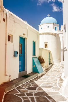 Lovely Old Architecture in Paros, Greece