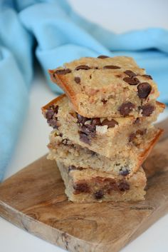 Banana Chocolate Chip Blondies from MichaelsMakers The Idea Room