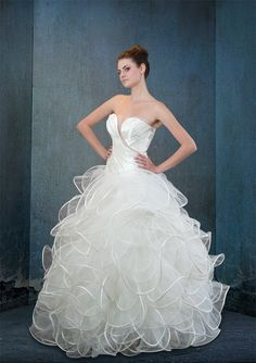 Real Haute Couture bridal Samsara dress.