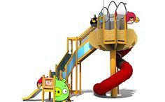 Angry Birds park coming to Sundown Adventureland children's theme park in Nottingham. Amusement Park Games, Noah's Park, Kids Play Equipment, Bird Theme, New View, 6th Birthday Parties, New Theme, Nottingham, Angry Birds