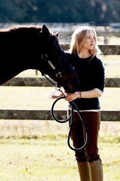 Amanda Seyried in Dear John horse riding boots