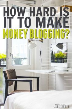 How hard is it to make money blogging? Well, this was eye opening. I was expecting the usual fluff and not that! I want to start a blog so bad and never even thought about half of that. Great for blogging for beginners or blogging for money.