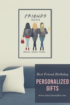 Check out this Personalized Friendship Print. If you can't figure out what to get someone who has a little of everything, then create a personalized Best Friend Print. They will appreciate the effort you took to make their Birthday gift special and unique. Personalized Best Friend Gifts add a special touch to a special day. Click the link and order yours today!! Personalized Wall Decor, Personalized Best Friend Gifts, Personalized Birthday Gifts, Unique Birthday Gifts, Gifts For Family, Gifts For Friends, Best Friends, Moving Away Gifts, Best Friend Birthday