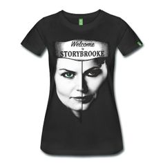 """Once Upon A Time t-shirt """"Welcome to Storybrooke"""" I freaking need this shirt!!"""