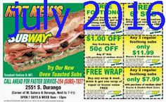 Subway Coupons PROMO expires June 2020 Hurry up for a BIG SAVERS The subway is an international fast-food franchise with more than Free Food Coupons, Free Coupons By Mail, Free Printable Coupons, Love Coupons, Grocery Coupons, Free Printables, Pizza Hut Coupon, Dollar General Couponing, Coupons For Boyfriend