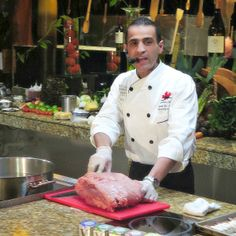 #CanadianBeef #Chef Shadi El-Jaouni The Canadian Beef Culinary Series by Karisma Hotels