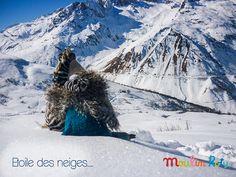 Les Roty Moulin Bazar à la neige ! Zouzou le zèbre et Kiwi le kiwi admirent la montagne... Etoile des neiges....