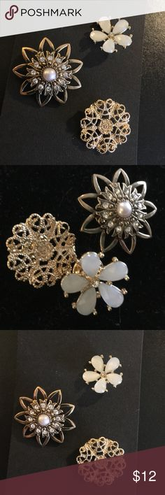3-Piece Antique Flower Fashion Pin Set 3-Piece Fashion Pin Set (Antique Flowers) Brand NWT ~~Please RESPECT my Items are already being sold at lowest possible prices (to include PM fees)!! Discounts on Bundles Only. Low Ball Offers will be Ignored….Thank you for shopping my closet! Jewelry