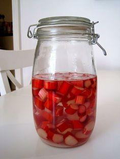 Recipe: Rhubarb Gin