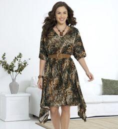 Dress, Jungle Print Jersey from Midnight Velvet®